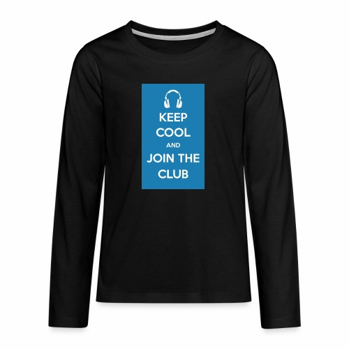 Join the club - Teenagers' Premium Longsleeve Shirt