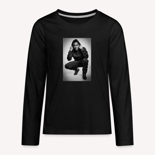 Black M - T-shirt manches longues Premium Ado