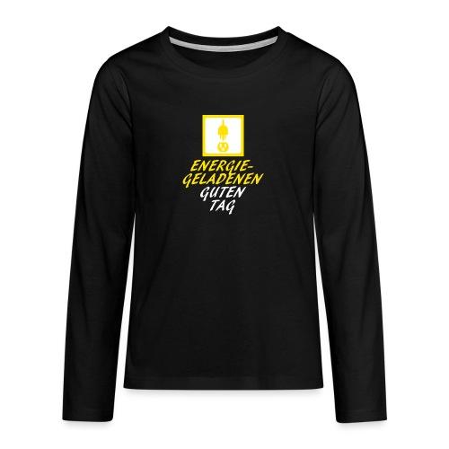 DieSteckdoze - Teenager Premium Langarmshirt
