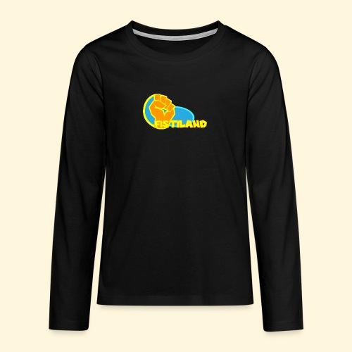 FISTILAND en couleur - T-shirt manches longues Premium Ado