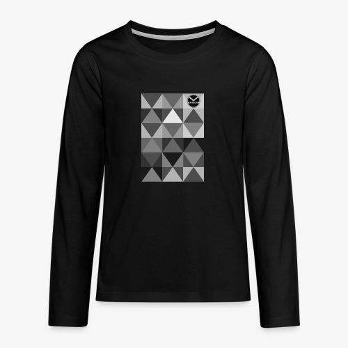 |K·CLOTHES| TRIANGULAR ESSENCE - Camiseta de manga larga premium adolescente