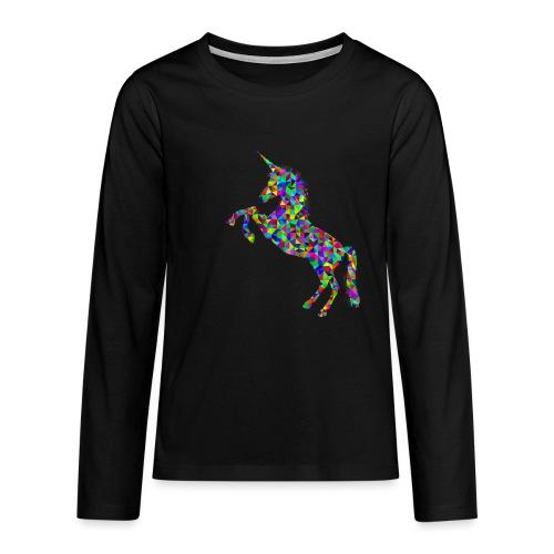 unicorn - Teenager Premium Langarmshirt