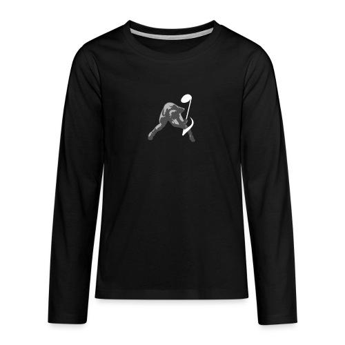 Breaking Noise tshirt ✅ - Teenager Premium Langarmshirt