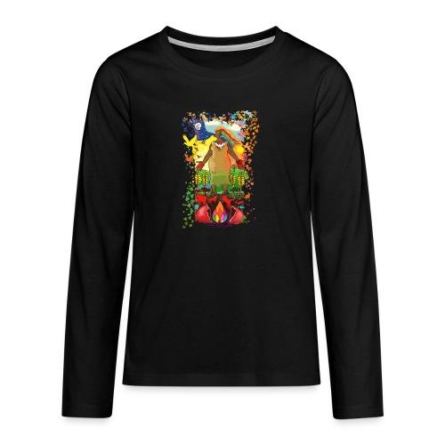 Mother Earth Creating - Teenager Premium shirt met lange mouwen