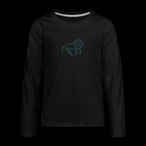 Cheval - T-shirt manches longues Premium Ado
