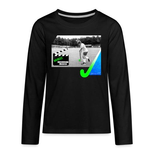 Team #Hockeyliebe - Teenager Premium Langarmshirt