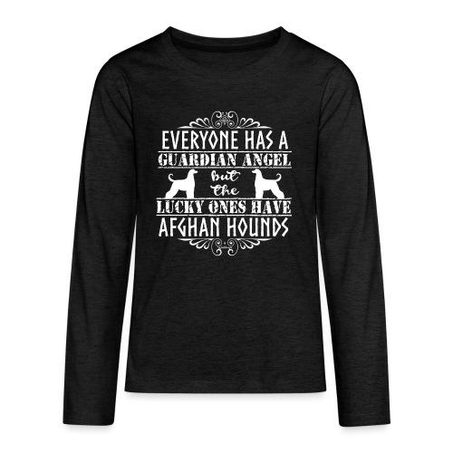 Afghan Hound Angels 2 - Teenagers' Premium Longsleeve Shirt
