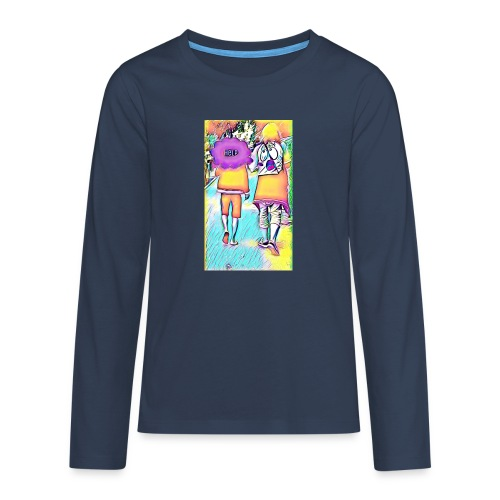 T-shirt wants To escape - T-shirt manches longues Premium Ado
