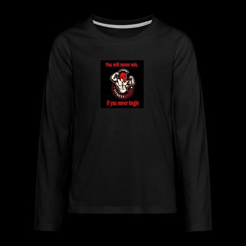 You will never win - Teenager Premium Langarmshirt