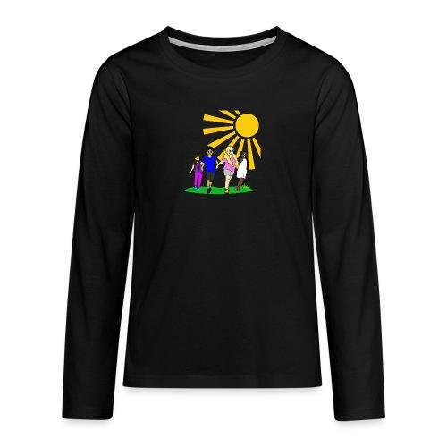 Kids - Teenager Premium Langarmshirt