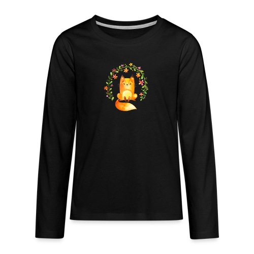 Forest3 - Teenager Premium shirt met lange mouwen
