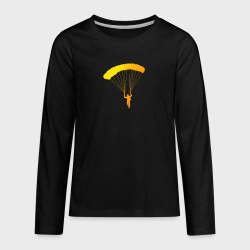 Colorfull Skydiver - Teenager Premium Langarmshirt