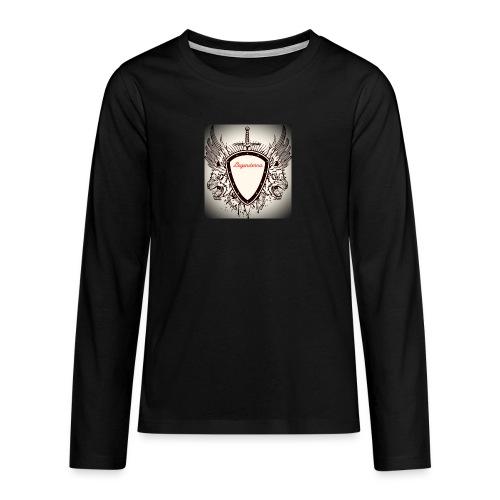 MR AIMs logga - Långärmad premium T-shirt tonåring