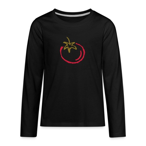 tomato 1000points - Teenagers' Premium Longsleeve Shirt