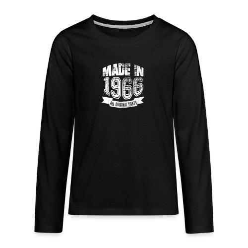 Made in 1966 - Camiseta de manga larga premium adolescente