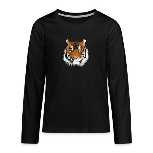 tiger numero 1 - Camiseta de manga larga premium adolescente