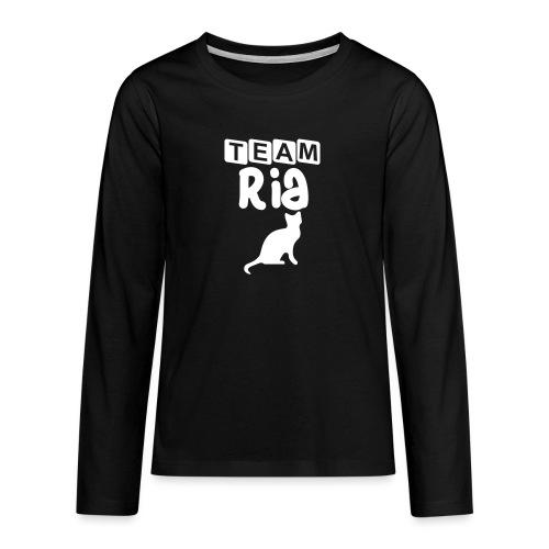 Team Ria - Teenagers' Premium Longsleeve Shirt