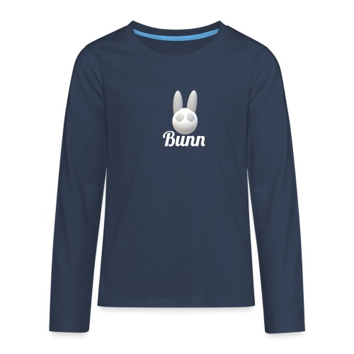 White Bunn - Teenagers' Premium Longsleeve Shirt