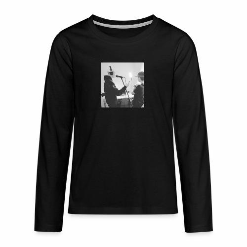 collab med timm9o9 - Teenager premium T-shirt med lange ærmer