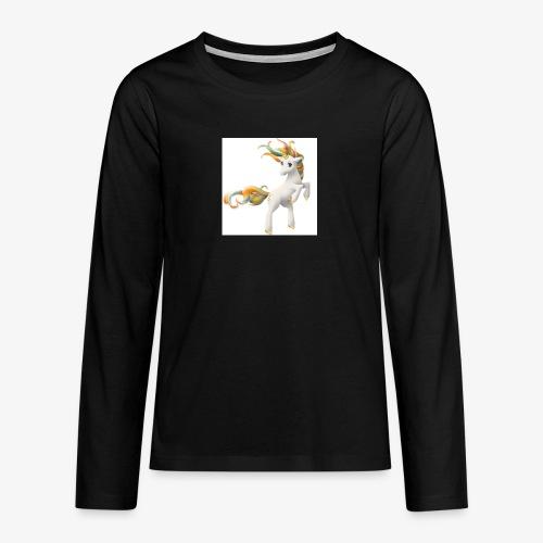 Love Unicorn - Teenager Premium Langarmshirt