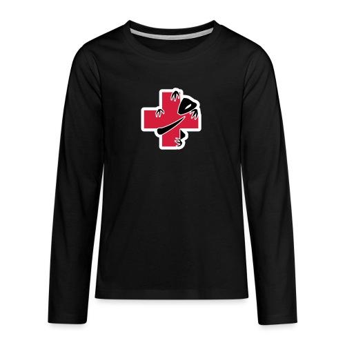 sic-santyx-infirmyx-citud - T-shirt manches longues Premium Ado
