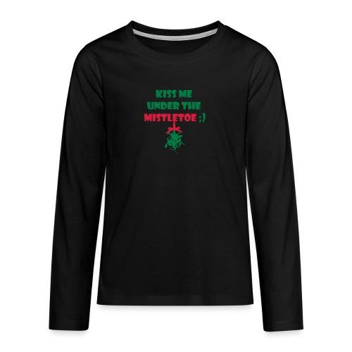 mistletoe - Teenager Premium Langarmshirt
