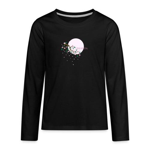 Cherry Blossom Festval Full Moon 1 - Teenager Premium Langarmshirt