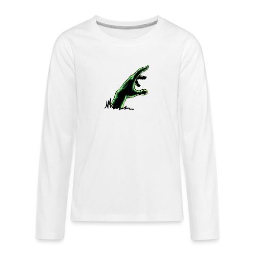 main_zombie - T-shirt manches longues Premium Ado