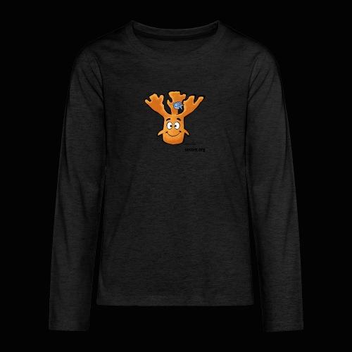 Al Moose - Teenagers' Premium Longsleeve Shirt