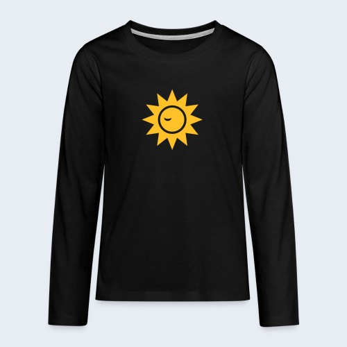 Winky Sun - Teenager Premium shirt met lange mouwen