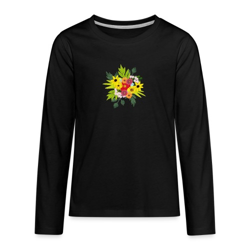 Flower_arragenment - Teenagers' Premium Longsleeve Shirt