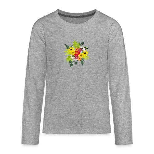 Flower_arragenment - Teenagers' Premium Longsleeve Shirt