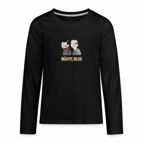 The Wankil Dead - T-shirt manches longues Premium Ado