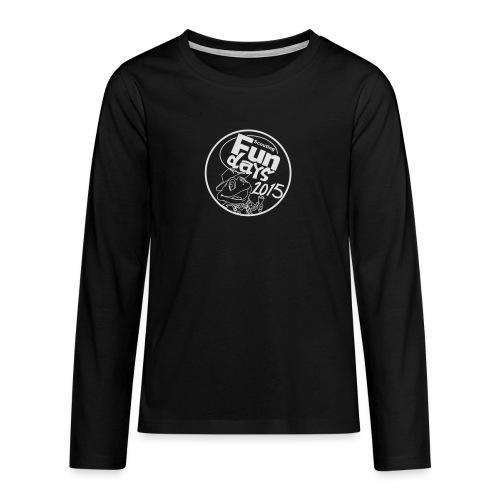zonder crew - Teenager Premium shirt met lange mouwen