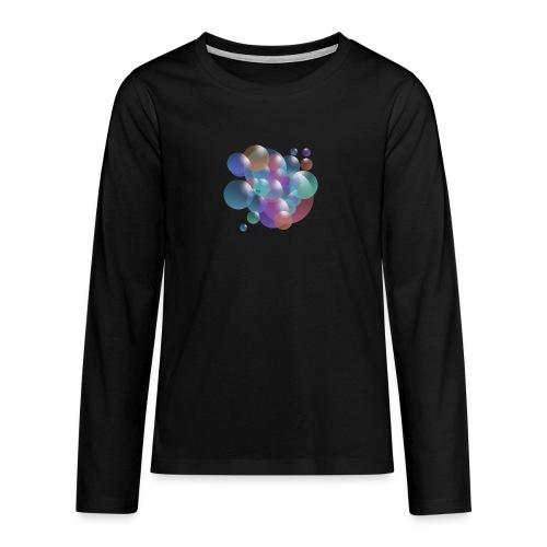 bubble - Teenager Premium Langarmshirt