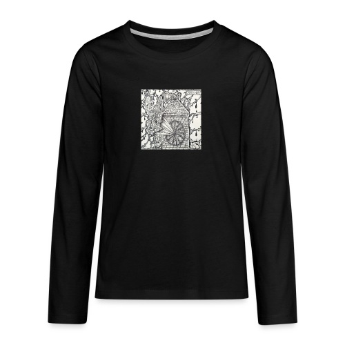 Brain Ache - Teenagers' Premium Longsleeve Shirt