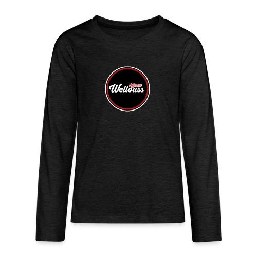 Wellouss Fan T-shirt | Rood - Teenager Premium shirt met lange mouwen