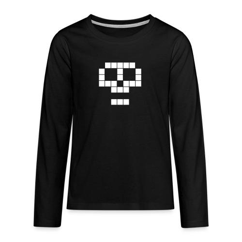 skull - T-shirt manches longues Premium Ado