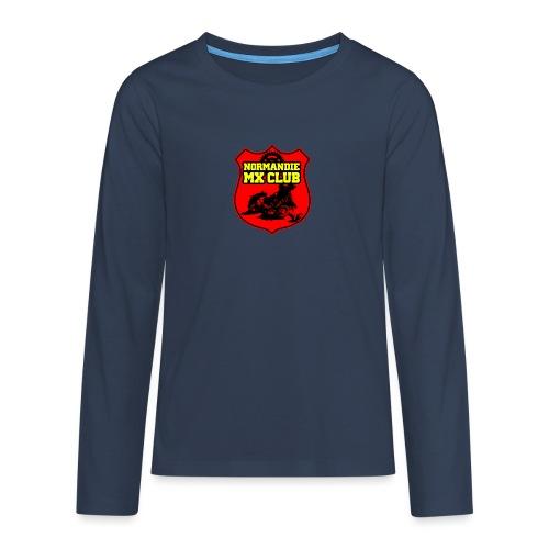 Casquette Normandie MX Club - T-shirt manches longues Premium Ado