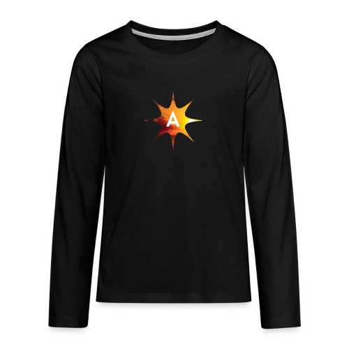 Sunshine Hoodie White - Koszulka Premium z długim rękawem dla nastolatków