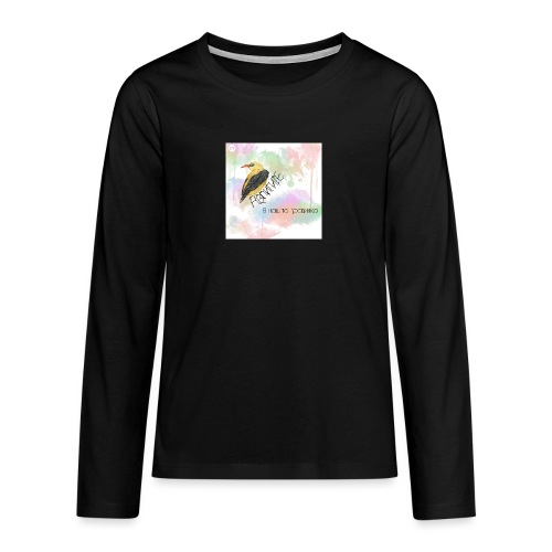Avligite - Album Art - Teenagers' Premium Longsleeve Shirt