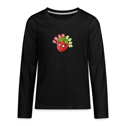 framboos - Teenager Premium shirt met lange mouwen