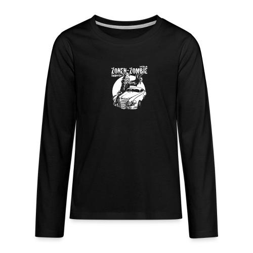 Zonen Zombie Supporter Shirt - Teenager Premium Langarmshirt