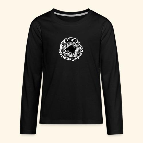 UEP white background - Teenagers' Premium Longsleeve Shirt