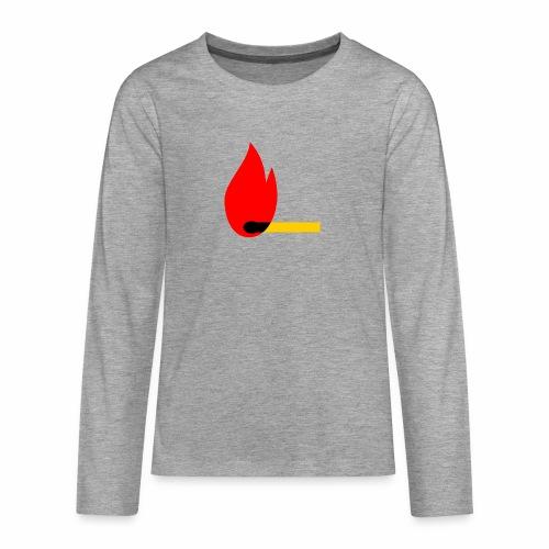 firewood - Teenager Premium Langarmshirt