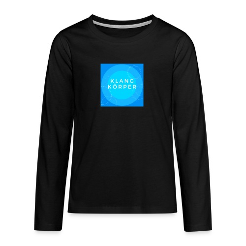 KLANGKÖRPER - Teenager Premium Langarmshirt