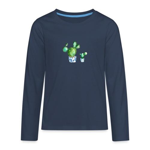 Kaktus - Teenagers' Premium Longsleeve Shirt
