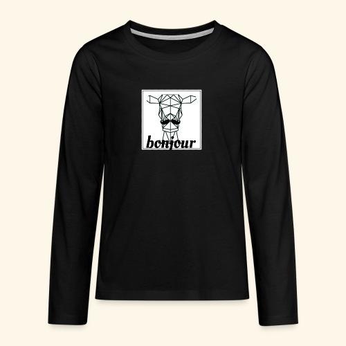 Bonjour - Teenager Premium shirt met lange mouwen