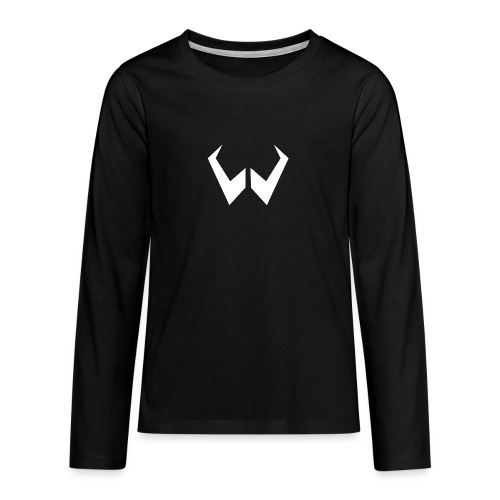 logo de without gravity pk - Camiseta de manga larga premium adolescente