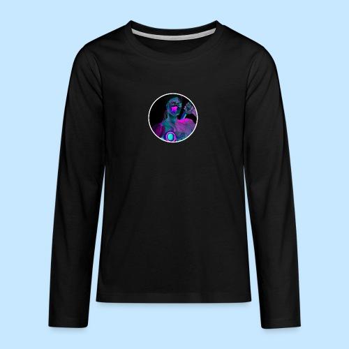 Neon Genji - Teenagers' Premium Longsleeve Shirt